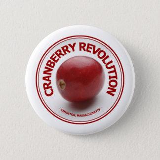 Badge Rond 5 Cm Révolution de canneberge