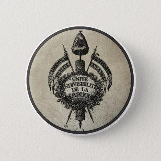 Badge Rond 5 Cm Révolution de La de Vive