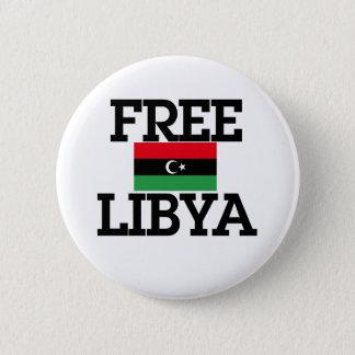 Badge Rond 5 Cm Révolution de la Libye