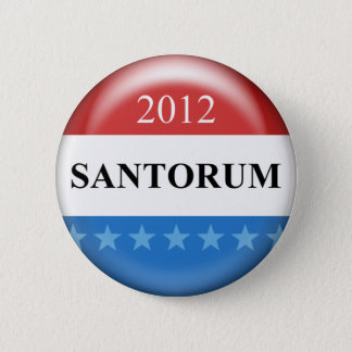 Badge Rond 5 Cm Rick Santorum 2012