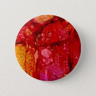 Badge Rond 5 Cm Rochers rouges de falaise