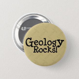 Badge Rond 5 Cm Roches de géologie !