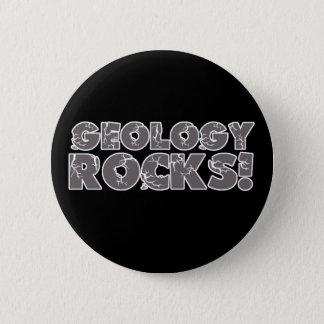 Badge Rond 5 Cm Roches de géologie