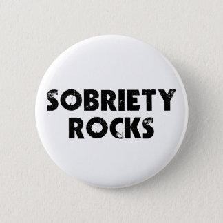 Badge Rond 5 Cm Roches de sobriété