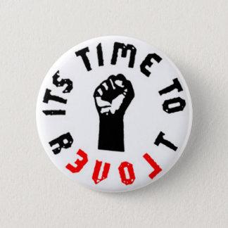 Badge Rond 5 Cm Ron Paul il est temps de révolter bouton