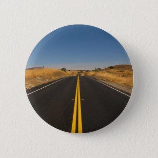 Badge Rond 5 Cm Route - longue route