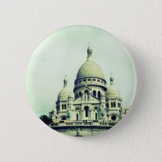 Badge Rond 5 Cm Sacre Coeur