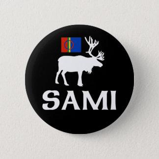 Badge Rond 5 Cm Sami, les personnes de huit saisons