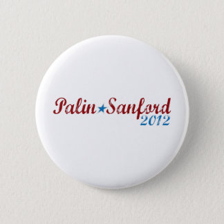 Badge Rond 5 Cm sanford 2012 de palin