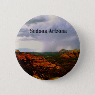 Badge Rond 5 Cm Sedona mystique Arizona