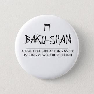 Badge Rond 5 Cm shan de Bakou