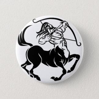 Badge Rond 5 Cm Signe de zodiaque d'horoscope de centaure de
