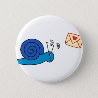Badge Rond 5 Cm Snail mail
