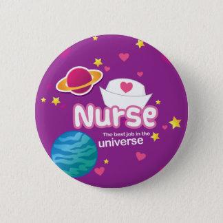 Badge Rond 5 Cm Soignez le meilleur travail dans l'univers