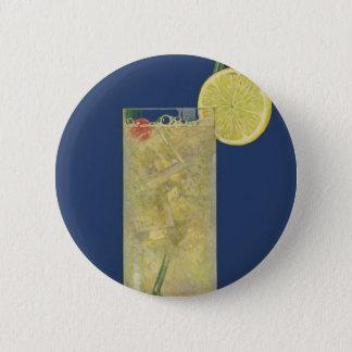 Badge Rond 5 Cm Soude vintage de limonade ou de fruit, boissons de