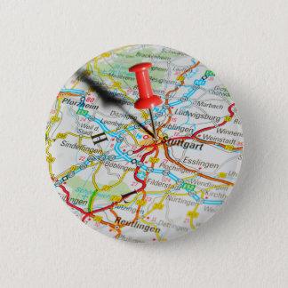 Badge Rond 5 Cm Stuttgart, Allemagne