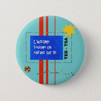 Badge Rond 5 Cm Sur enfant 91 de l'ONU de touche de Macaron
