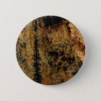 Badge Rond 5 Cm surface jaune approximative
