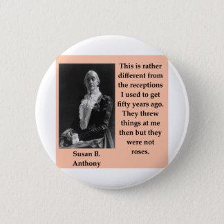 Badge Rond 5 Cm susan b Anthony