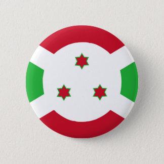 Badge Rond 5 Cm Symbole de drapeau de pays du Burundi longtemps
