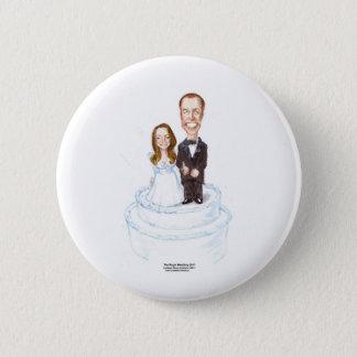Badge Rond 5 Cm Tee - shirt l'épousant royal etc. de cadeaux de &W