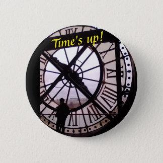 Badge Rond 5 Cm Temps