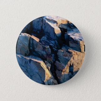 Badge Rond 5 Cm texture d'ombre de roche