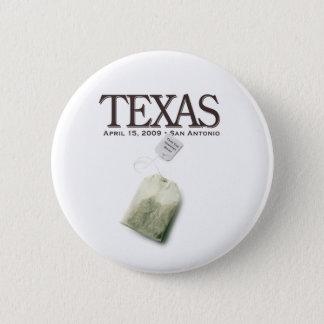 Badge Rond 5 Cm Thé de San Antonio, le Texas