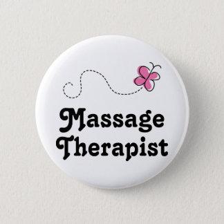 Badge Rond 5 Cm Thérapeute mignon de massage