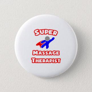 Badge Rond 5 Cm Thérapeute superbe de massage