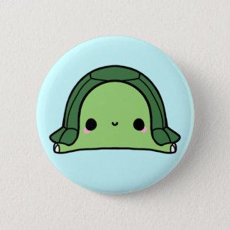 Badge Rond 5 Cm Tortue de Kawaii (vous changez l'arrière - plan !)
