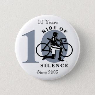 Badge Rond 5 Cm Tour de 10ème bouton annuel de commémoration de