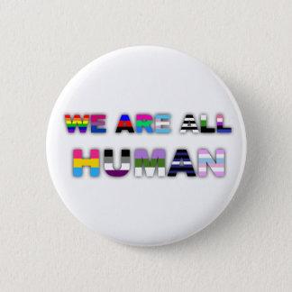 Badge Rond 5 Cm Tout le blanc humain
