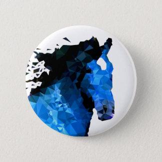 Badge Rond 5 Cm Triangle de cheval