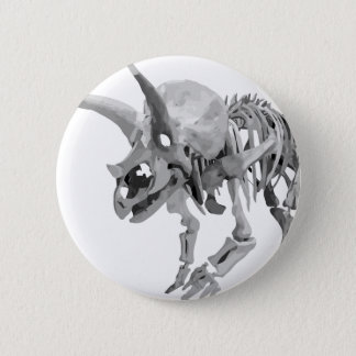 Badge Rond 5 Cm triceratops