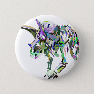 Badge Rond 5 Cm triceratops4