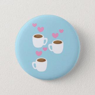 Badge Rond 5 Cm trois cafés