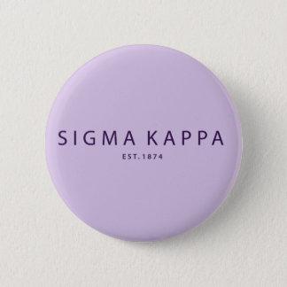Badge Rond 5 Cm Type moderne de Kappa de sigma