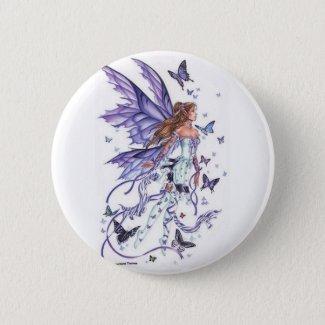Badge Rond 5 Cm Une fée