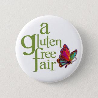Badge Rond 5 Cm Une foire libre de gluten - bouton