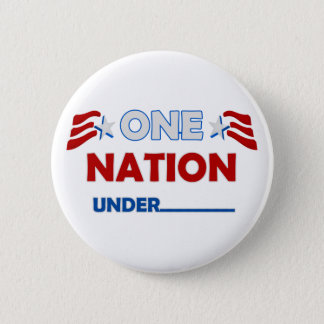 Badge Rond 5 Cm Une nation soulignent
