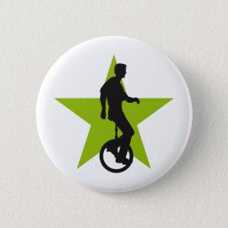 Badge Rond 5 Cm unicycle