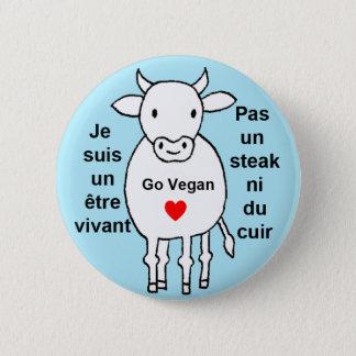 Badge Rond 5 Cm Vache