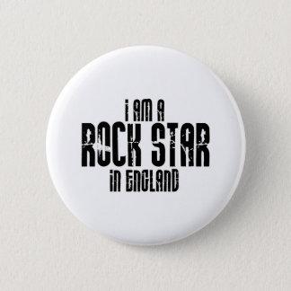 Badge Rond 5 Cm Vedette du rock en Angleterre