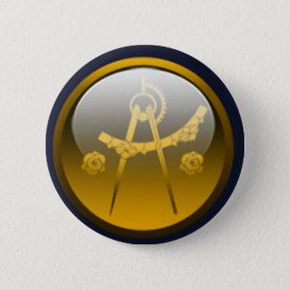 Badge Rond 5 Cm Villes d'ombre - architectes