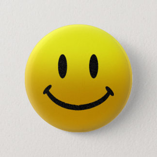 Badge Rond 5 Cm visage souriant