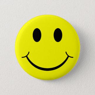 Badge Rond 5 Cm Visage souriant classique