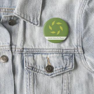 Badge Rond 5 Cm Voix juive pour le bouton de paix