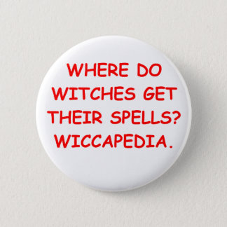 BADGE ROND 5 CM WICCA