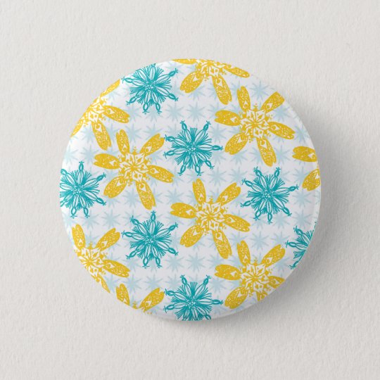 Badge Rond 5 Cm Winter day